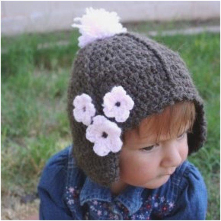 Toddler Hat with Ear Flaps