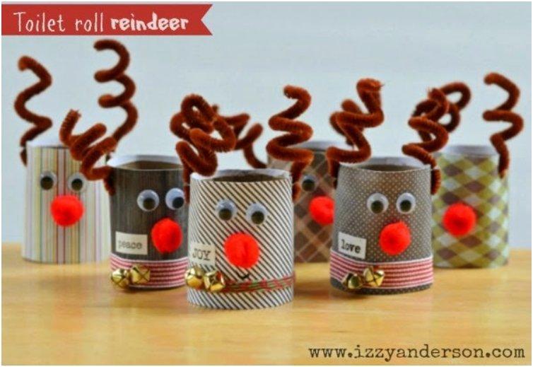 Toilet Roll Reindeer 3