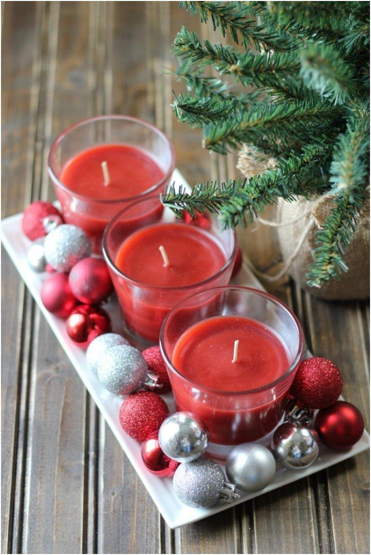 diy holiday centerpiece