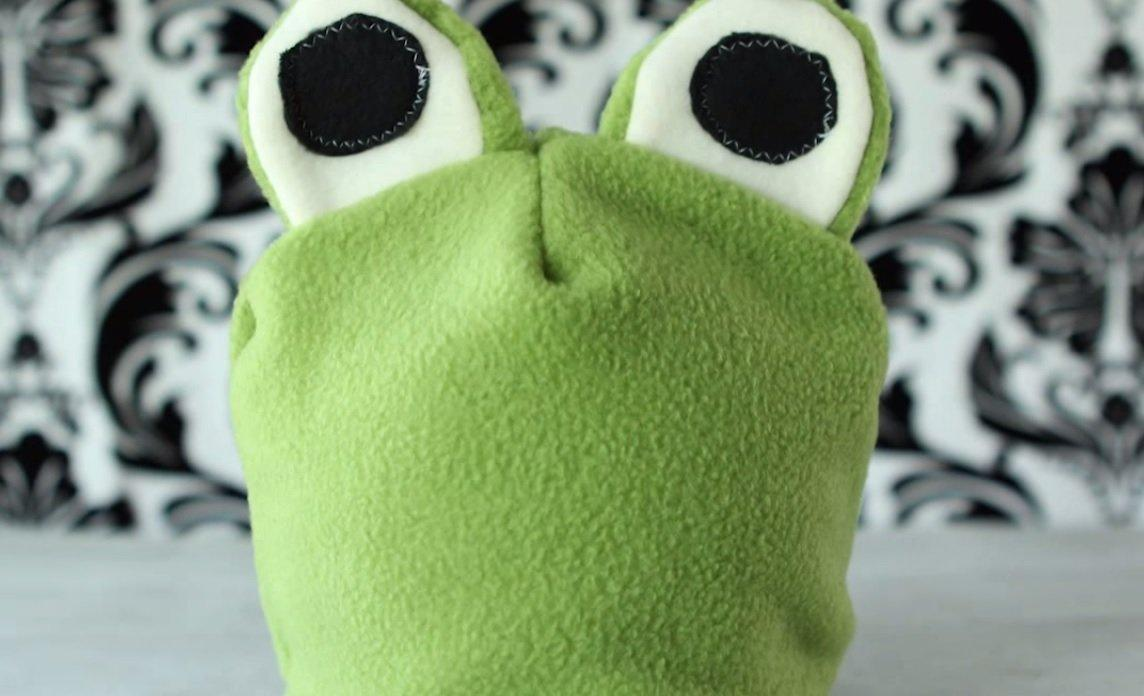 fleece Frog Hat Pattern