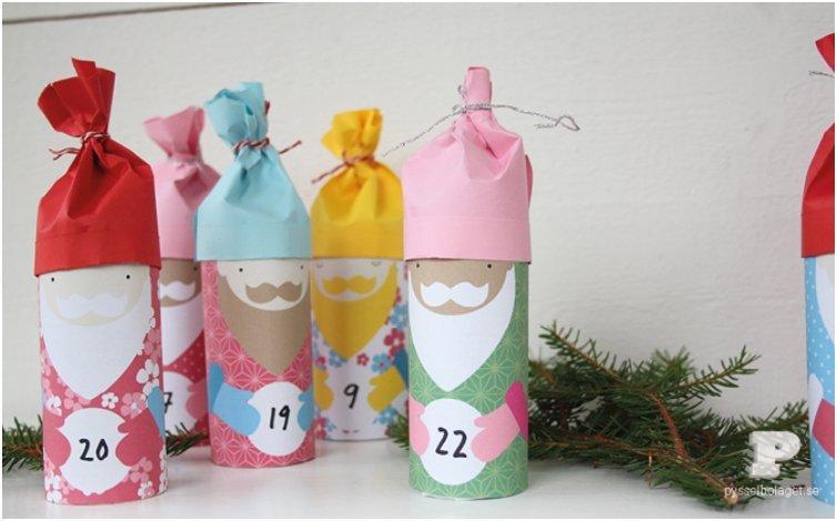 little santa advent calendar