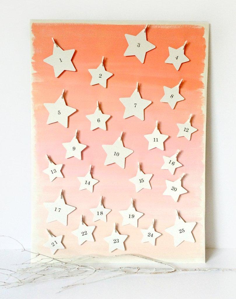 starry advent calendar