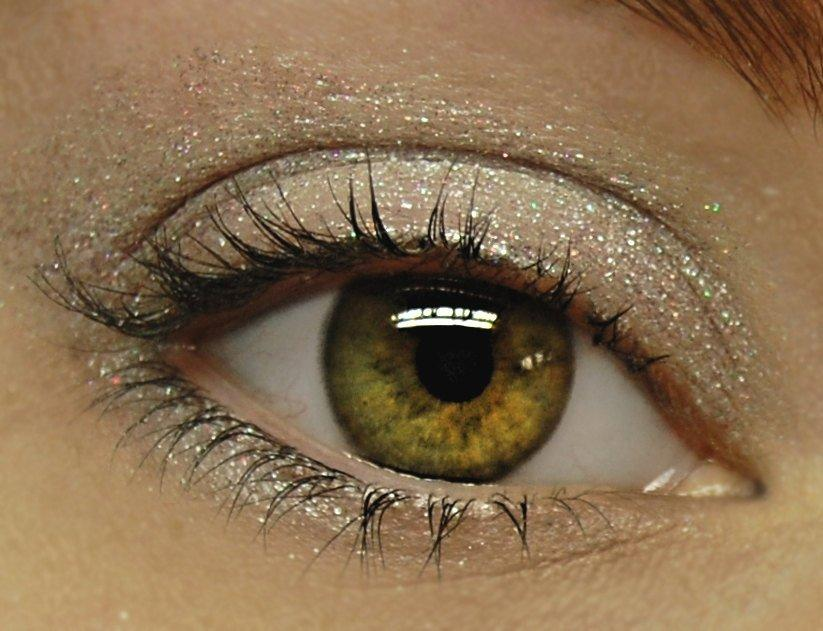 Here is How You Can Look Gorgeous With Glitter Eye Shadow