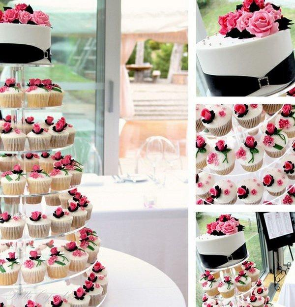 Let Your Wedding Cake be Something Different. Here are 20 Cupcake Wedding Cakes