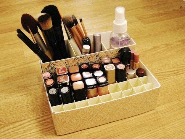 14 Simple Tips For Organizing Your Makeup