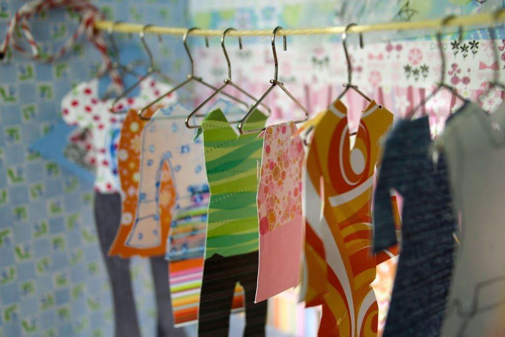 A Paper Wardrobe