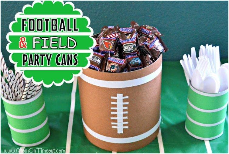 16 DIY Super Bowl Party Decor And Crafts