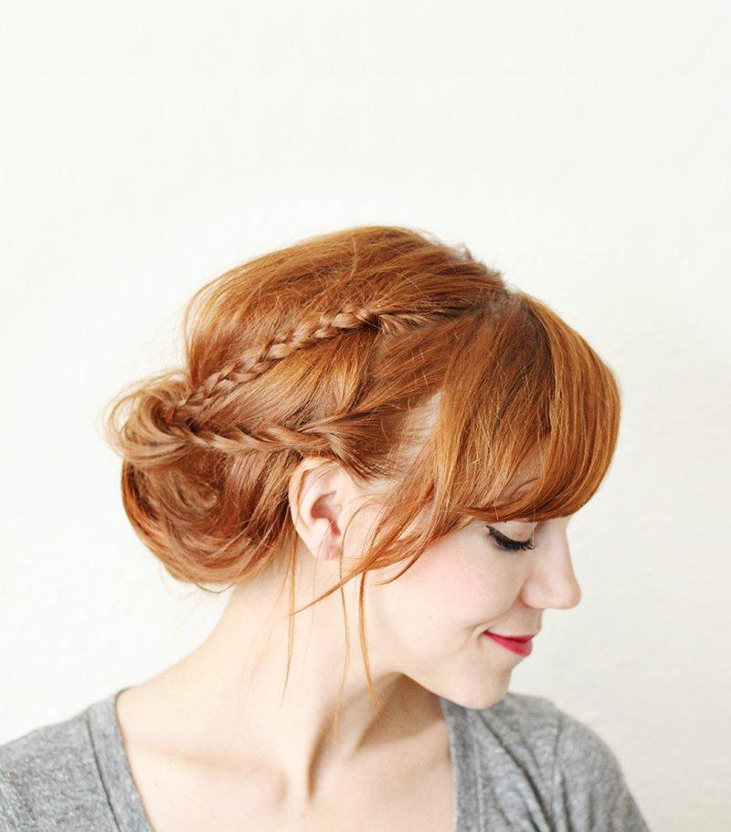 HOW TO STYLE A BRAIDED CHIGNON