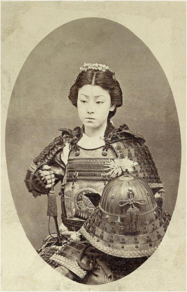 Japan's samurai onna-bugeisha