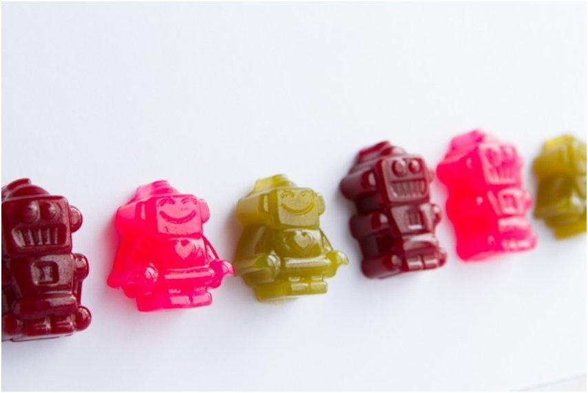 Robot Gummy Candy