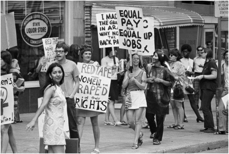 Women's Liberation Coalition March, Detroit, Michigan. [1970]