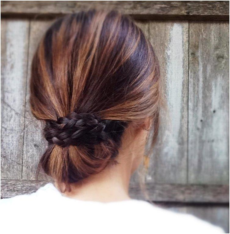 braid-topped-chignon