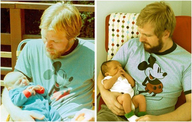 44 Cute Pictures Of Parents And Their Little Clones