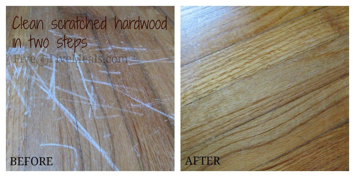 scuffed hardwood
