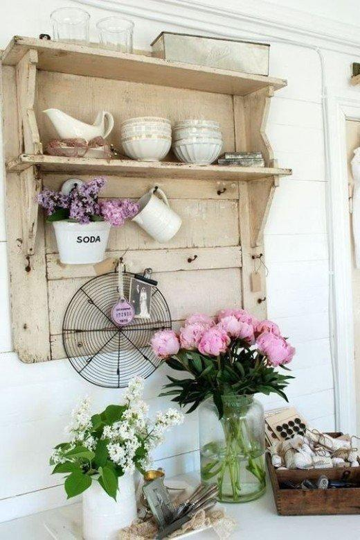 12 beautiful diy shabby chic d cor ideas for Style shabby chic decoration