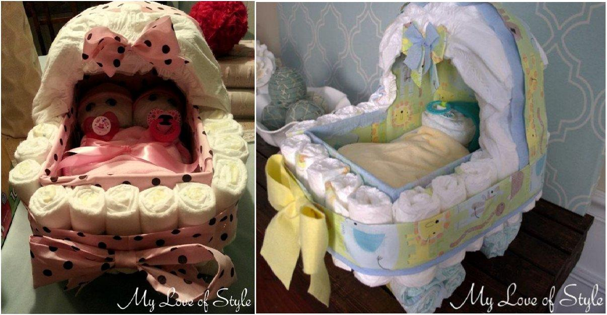 [TOP LIST] 25 Creative & Adorable Diaper Cake Ideas You Can Try