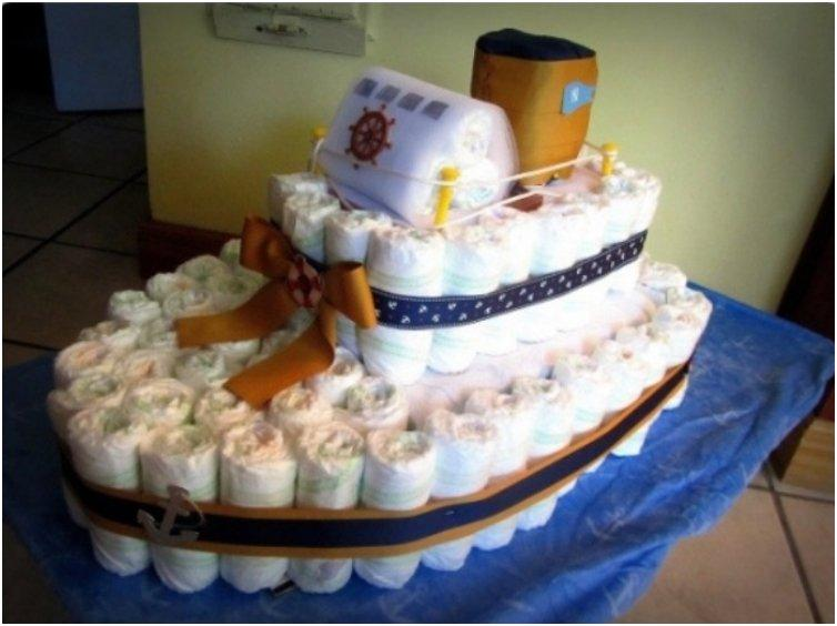 Top List 25 Creative Amp Adorable Diaper Cake Ideas You