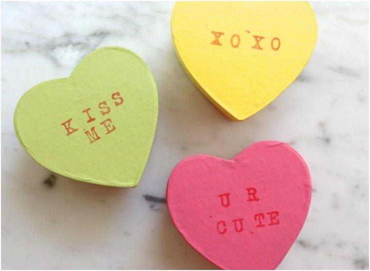 Conversation Heart Gift Boxes