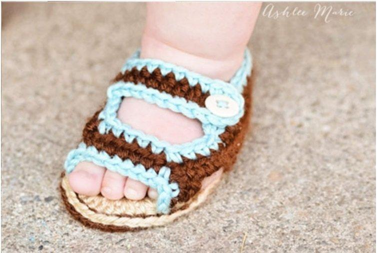 Crochet Shoes Baby Pattern Free