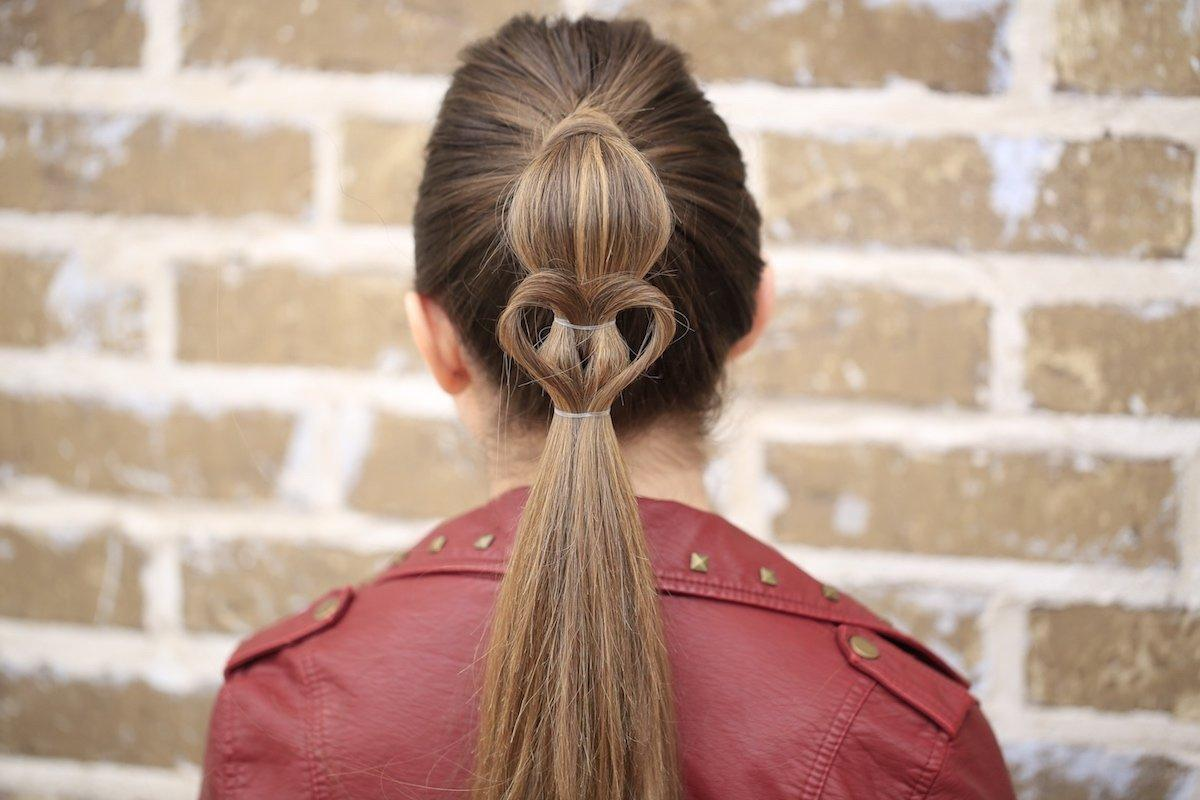 Cute Heart Ponytail