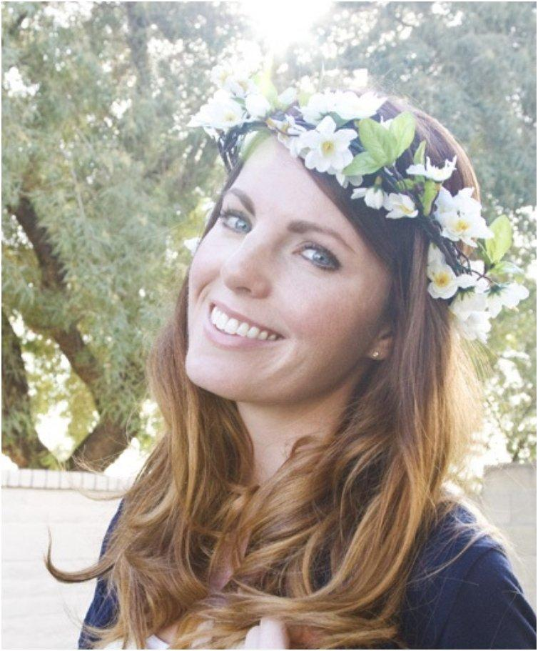 Flower Crown On A Budget
