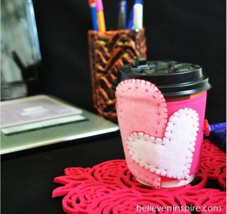 Heart Mug Cozies
