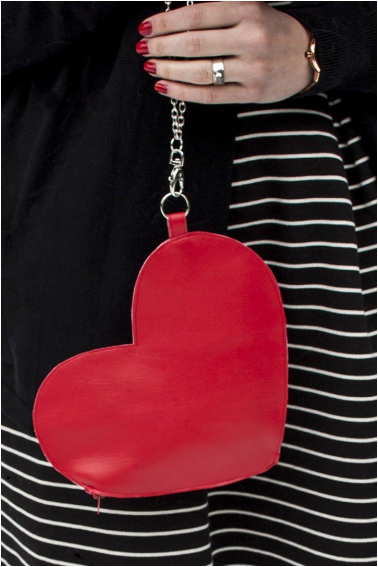 Heart Wrist Bag