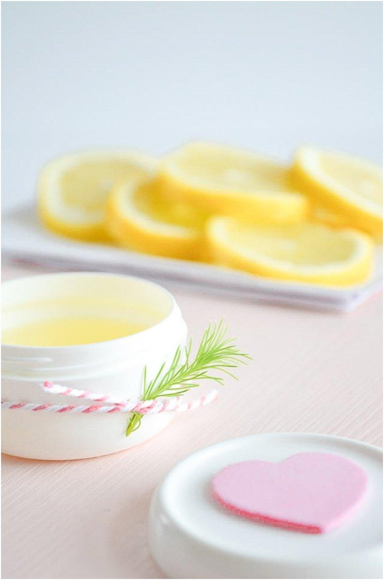 Lemon hand lotion