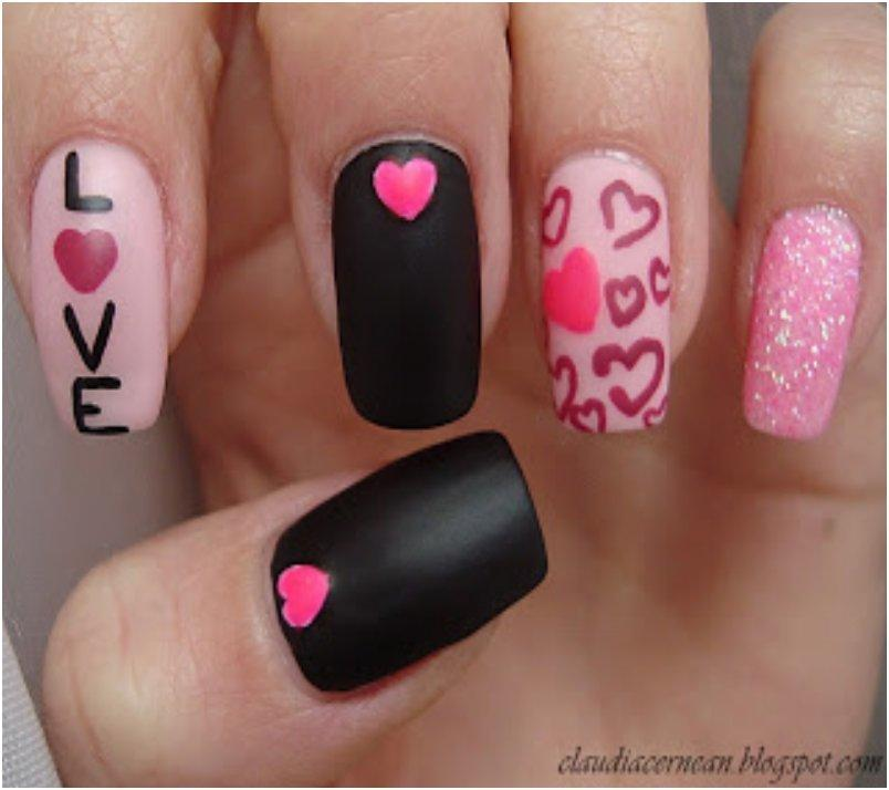 Love Hearts Nails