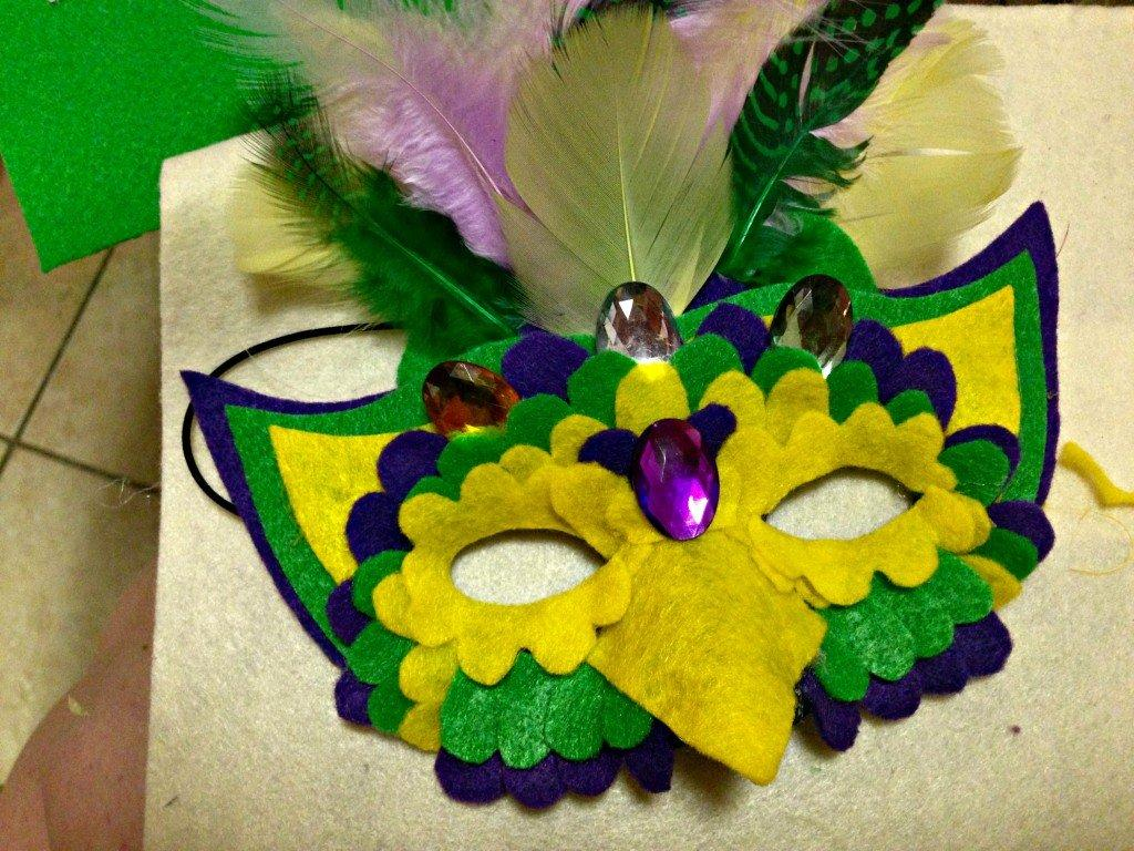 Mardi Gras Bird Mask