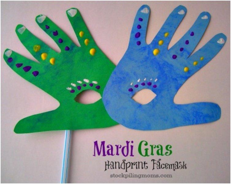 Have Your Own Mardi Gras Parade With These 20 Fun DIY Masks