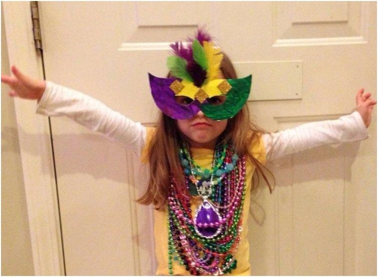Mardi Gras Sunglasses Mask