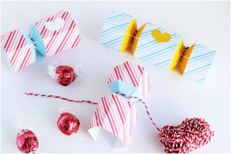 Printable Love Bonbon  Box