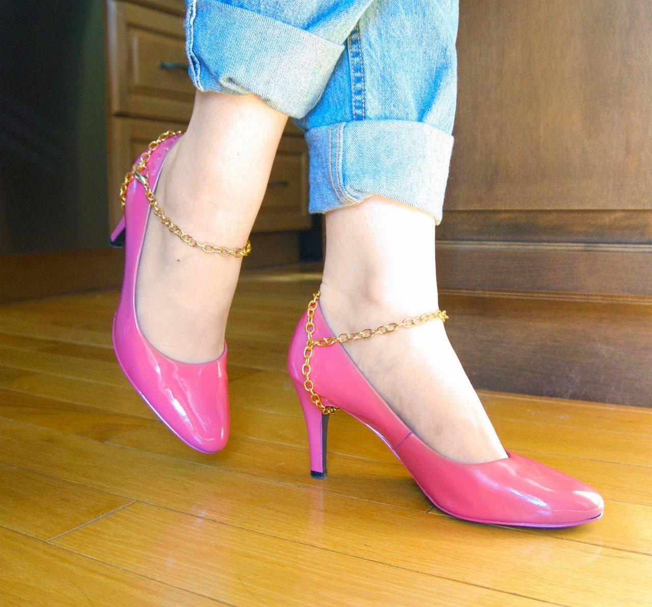 DIY To Make Your Old High Heels Look Fabulous