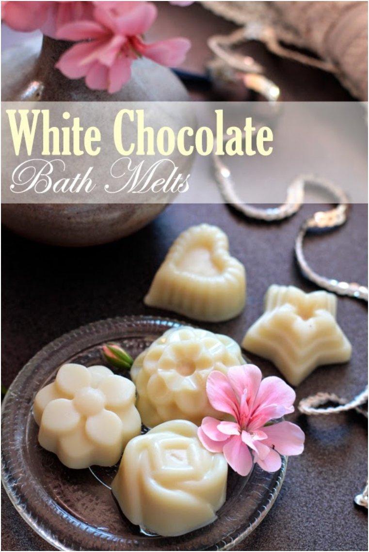 White Chocolate Bath Melts