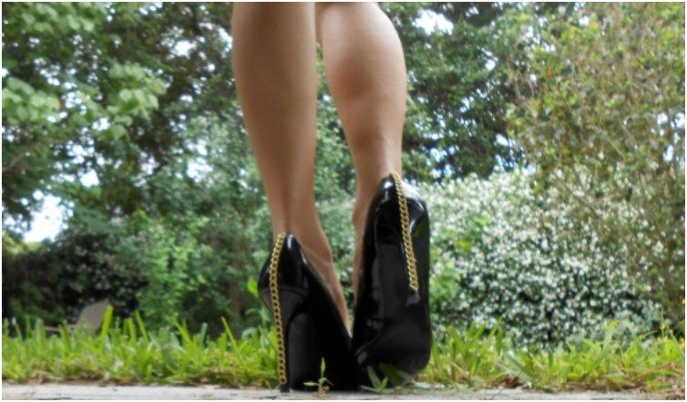 chain heels in just 5 steps