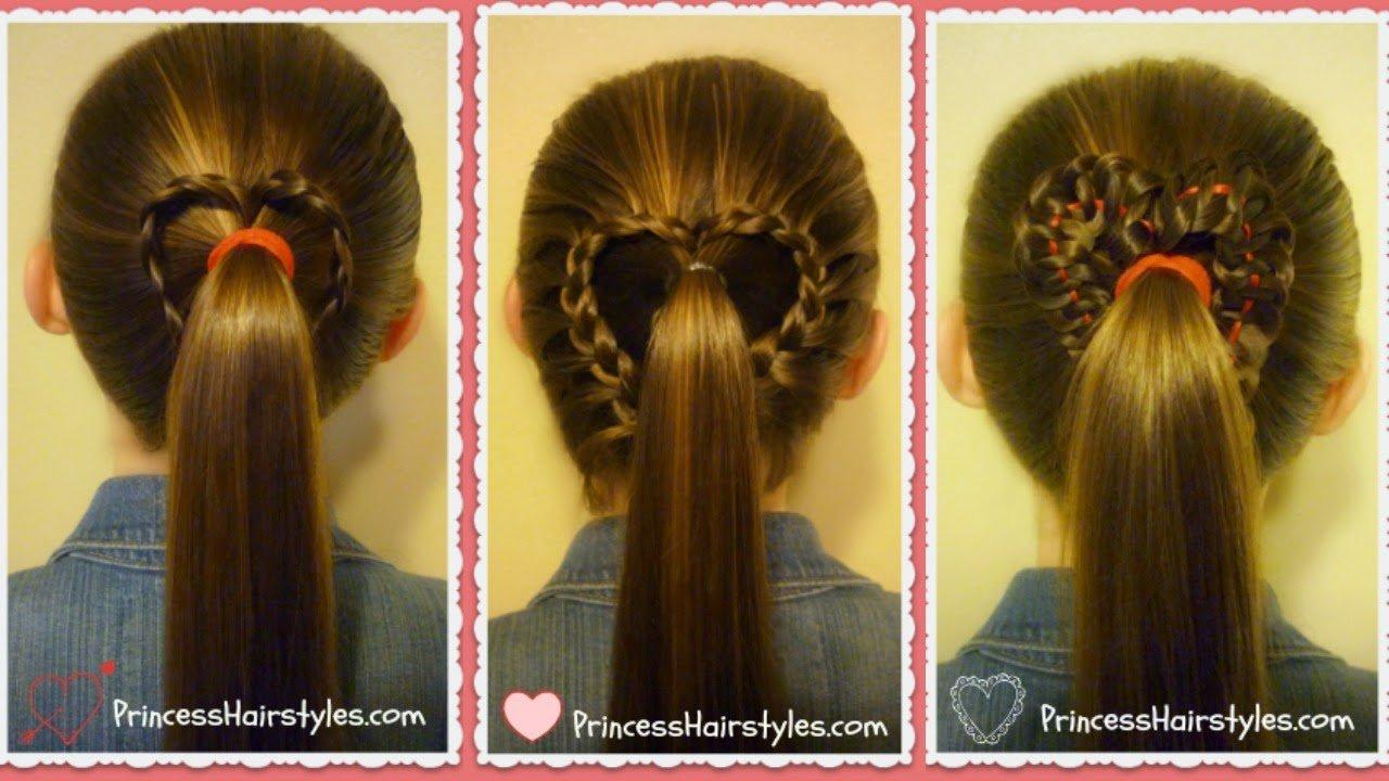 heart ponytail thumbnail
