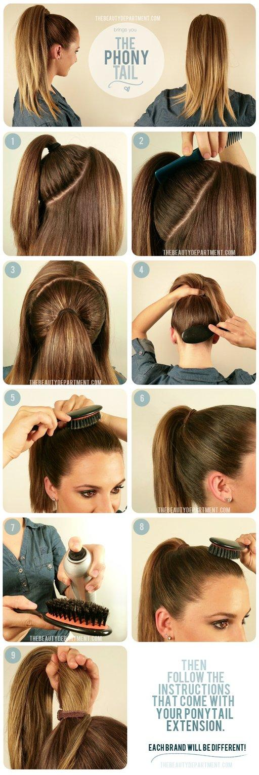 This is How You Make the Perfect Ponytail Every Time - Easy and Fast Tutorial