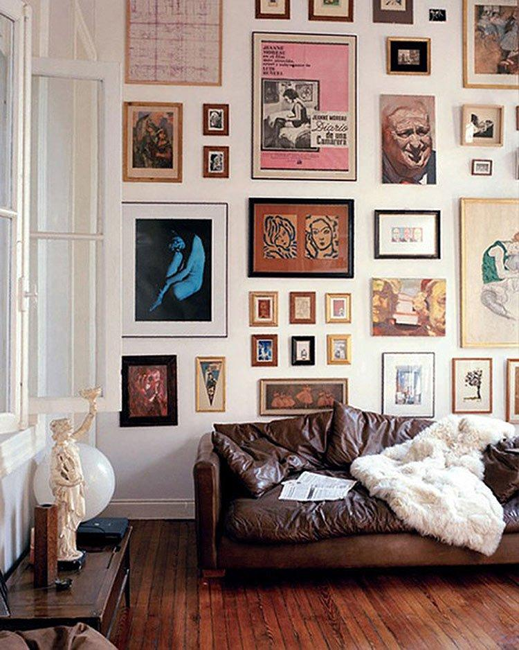 See This Creative Way Of Using Your Space by Displaying All of Your Stuff
