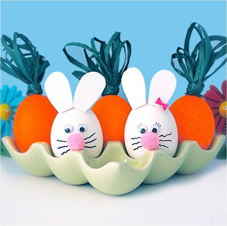 Bunny and Carrot Egg