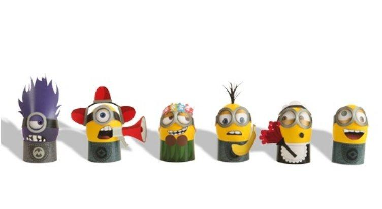 DIY MINION COSTUMES FOR EASTER EGGS