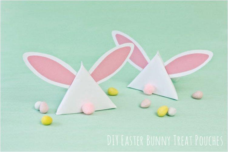 EASTER BUNNY TREAT POUCHES