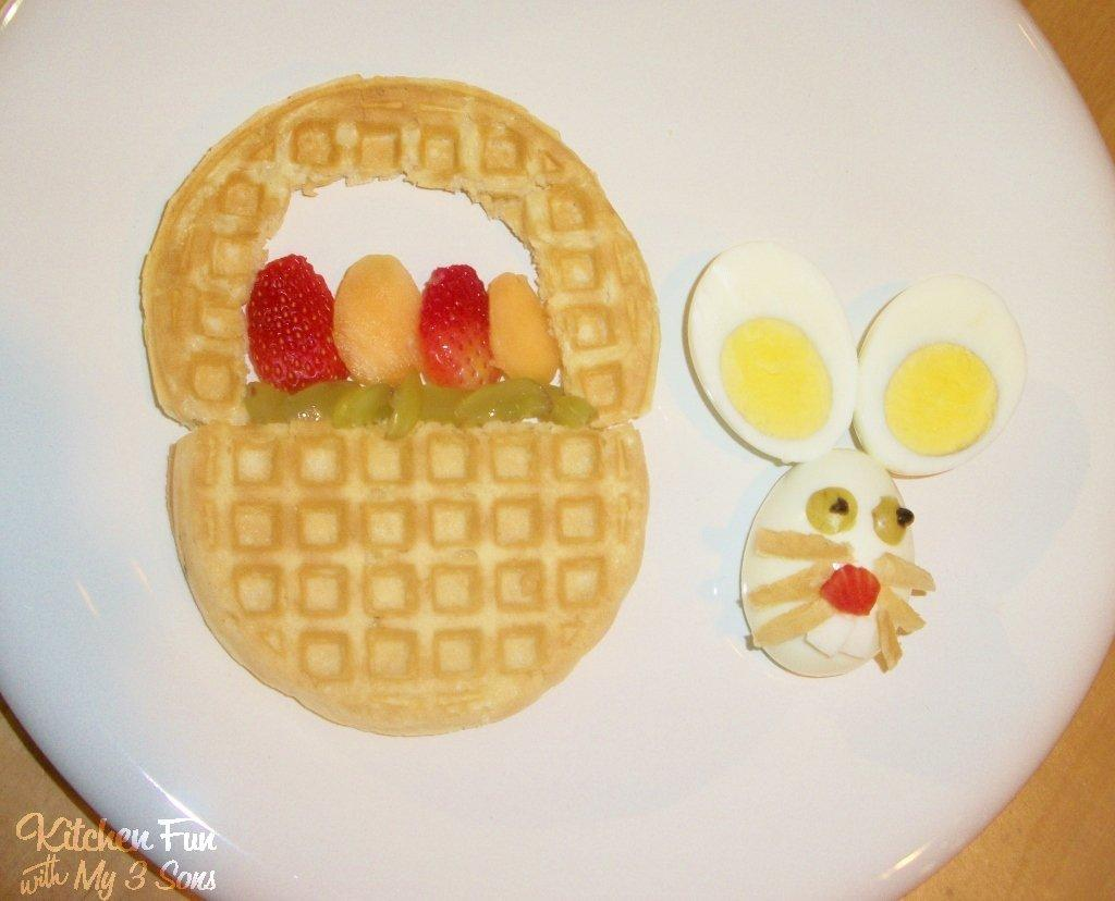 Easter Bunny Basket Breakfast