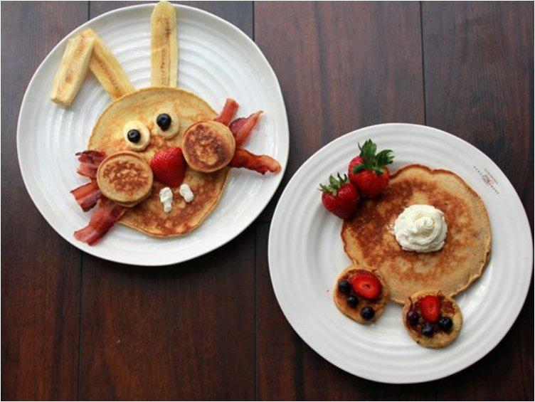 Easter Bunny Pancake Breakfast