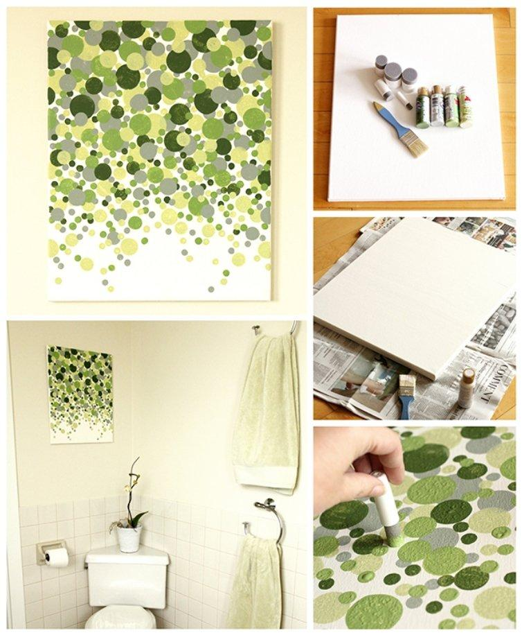 Easy Dotted Wall Art