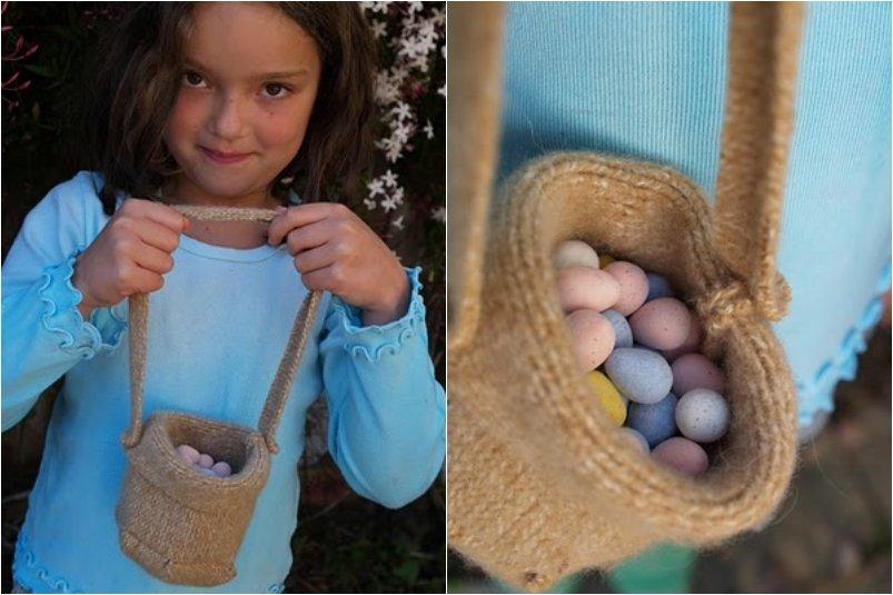 Easy Felt Easter Bag