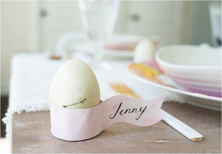 Egg Holder Place Card