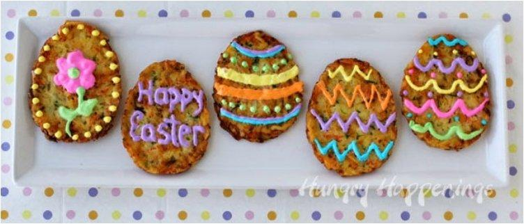 Hash Brown Fritter Easter Eggs
