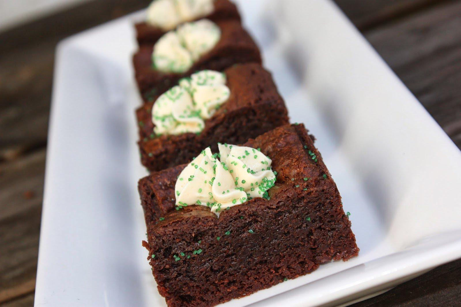 Irish Cream Brownies