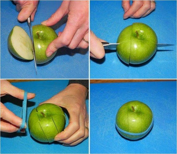 Keep Sliced Apple From Turning Brown